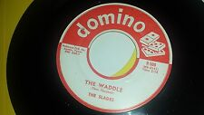 THE SLADES You Cheated / The Waddle DOMINO 500 1958 RARE DOO WOP 45