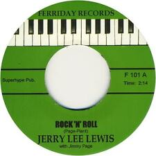"JERRY LEE LEWIS -""ROCK n ROLL"" b/w ""TRAVELIN' BAND"" GREAT 'KILLER' CUTS-LISTEN"