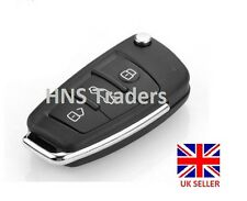 Folding Flip Remote Key Shell fit for AUDI 3 Button Case A2 A3 A4 A6 A6L A8 TT**