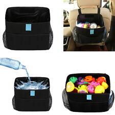 Car Headrest Garbage Bag Trash Bin Baby Toys Organiser Storage Bag Waterproof