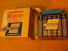 12N7-4A NOS battery BSA 441 A65 A50 B44 OIL IN FRAME SINGLES B50 B25 12V