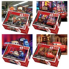 Trefl Mini 4 x 54 Pieces Kids Boys Disney Pixar Cars McQueen Jigsaw Puzzle NEW