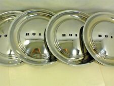 """1949 1950 BUICK HUBCAPS 15"""" VINTAGE WHEEL COVERS GM"""