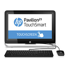 """HP 21"""" Touch All-in-One Computer 4GB 500GB Windows 8.1 (G4B30AA#ABA)"""