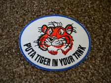 75mm ESSO TIGER MOTORING EMBROIDERED PATCH