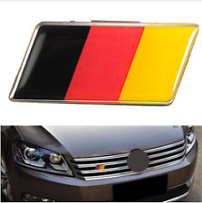 Aluminium German Germany Flag Badge Grille Emblem Car Sticker Decal Universal De