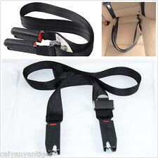 Isofix Soft Link Belt Anchor Holder Adjustable Baby Kids Car Safety Seat Strap×1