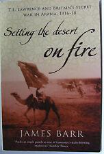 #JL3, Barr, James SETTING THE DESERT ON FIRE , SC GC