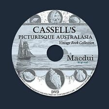 Cassell's picturesque Australasia – 4 Vintage e-Books Collection on 1 DATA DVD