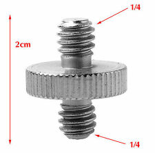 "2X 1/4"" Male Threaded To 1/4"" Male Threaded Double Male Screw Adapter UK Seller"