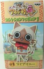 Monster Hunter Diary Poka Poka Airou Village G Collection Figure Urushi Capcom