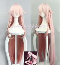 "43""110cm VOCALOID3 IA Fashion Light Pink Gradient Cosplay Wig Party Wigs"