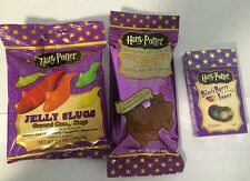 Jelly belly harry potter bertie botts beans, grenouille en chocolat & jelly limace