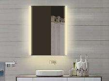 Lichtspiegel Badspiegel Badezimmerspiegel mit Licht in warm & kaltweiß - 60x82cm