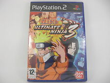 PS2 NARUTO ULTIMATE NINJA 3 - NUEVO - 00246 VERSION ESPAÑOLA Playstation 2