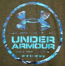 UNDER ARMOUR med athletic T shirt fitness elastane Cardinal Points work-out tee