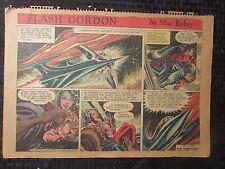 1954 FLASH GORDON Color Newspaper Strips by Mac Raboy LOT of 6 VG 4/11 - 5/16