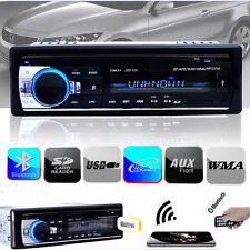 Bluetooth Car Stereo Audio 1 DIN In-Dash FM Aux Input Receiver USB MP3 Radio YKS