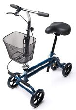 Evolution Mobility Knee Walker Scooter Seated Steerable Turning Leg Preowned