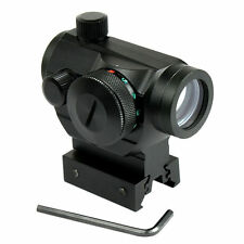 """Tactical Holographic Green / Red Dot Sight Scope w/ Rail Mount & 1"""" Rail Riser"""