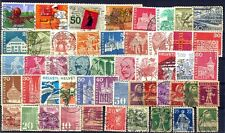 SWITZERLAND-50 Different Used-Thematic Issues-Large & Small