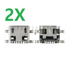 2X LG Leon LTE / Risio H345 USB Charger Charging Port Connector Dock Socket USA