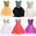 MANY 11 Stock Short Bridesmaid Formal Gown Ball Party Cocktail Evening Prom gown