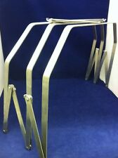STAINLESS STEEL FOLDING HOSPITAL BED CRADLE FOR BURN PATIENTS 30 X 24 x 14""