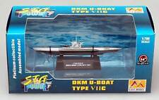 Easy Model DKM U boat German Navy U7C VIIC u boat Type Finshed Model 1:700 VII C