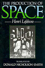 The Production of Space by Henri Lefebvre (Paperback, 1991)
