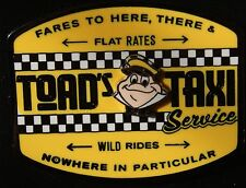 Disney Toad's Taxi Service Mr.Toad's Wild Ride June 2016 New Pin On Card