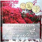 Zypern 3,88 Euro 2015 Stgl. KMS 1 Cent bis 2 Euro Sondersatz im Folder