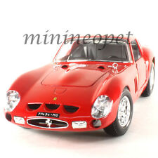 BBURAGO 18-16602 ORIGINAL SERIES FERRARI 250 GTO 1/18 DIECAST MODEL CAR RED
