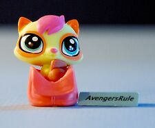 Littlest Pet Shop Bags & Shoes Series 4 #4052 Raccoon Green Orange