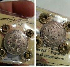 20 centesimi esagono 1919 periziato FDC