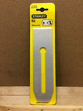 "Vintage Stanley Replacement S2 Plane Blade 50mm 2"" 12-313 (12-513) new old stock"