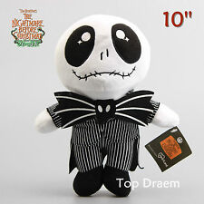 """10"""" The Nightmare Before Christmas JACK Embroidered Eyes Plush Toy Doll Gift"""