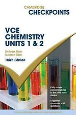 NEW Cambridge Checkpoints VCE Chemistry Units 1 and 2 By Roger Slade Paperback