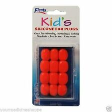 Flents Kid's Soft Silicone Ear Plugs, 6pair 023185002652A186