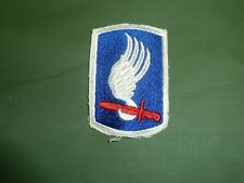 ORIGINAL VIETNAM 173RD AIRBORNE PATCH EARLY NON MERRED EDGE