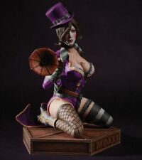 Borderlands 2 Mad Moxxi Purple Coat Exclusive Limted 1/4 Scale Statue Figure