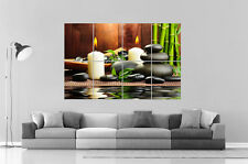 RELAXATION ZEN DECO HOME SERENITY Poster Grand format A0 Large Print