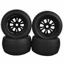 4PCS 140mm RC 1:8 Off-Road Monster Bigfoot Truck Rubber Tyre Tires 17mm HEX 996B