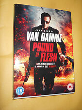 POUND OF FLESH DVD NEW AND SEALED +SLIPCASE STARRING JEAN CLAUDE VAN DAMME