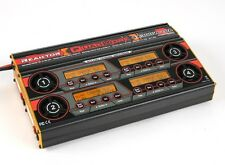 Turnigy Reaktor Quadkore 1200W 80A DC Synch Balance Charger/Discharger 4x300W20A