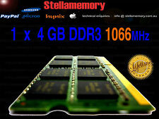 4GB DDR3 1066MHz 1066  LAPTOP RAM HP TOSHIBA DELL SONY