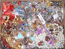 Jewelry Junk Lot 20 lbs Salvage Parts Craft Repair Rhinestones Necklaces Beads