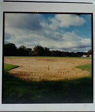 Color Photograph of Empty Sports Field by Jan Staller