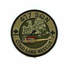 RCAF CAF Canadian 417 Squadron Cold Lake Rescue OD Crest Patch