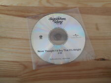 CD Indie Sugarplum Fairy - Never Thought I'd Say (1 Song) Promo VERTIGO cd only-